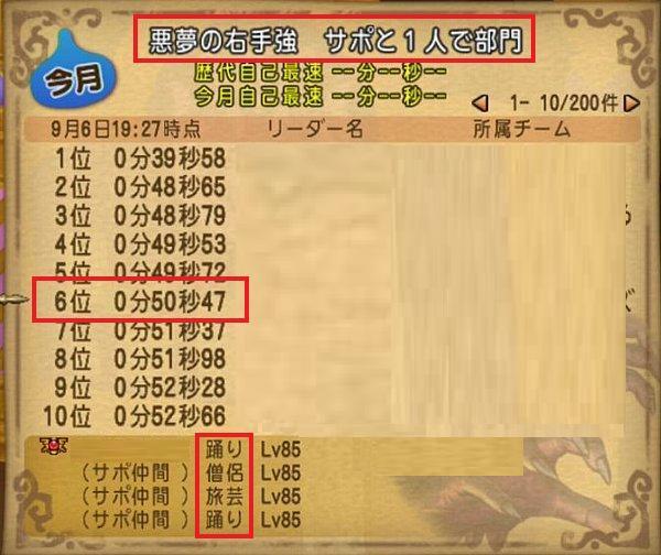 達人クエスト僧侶入り悪夢の手03