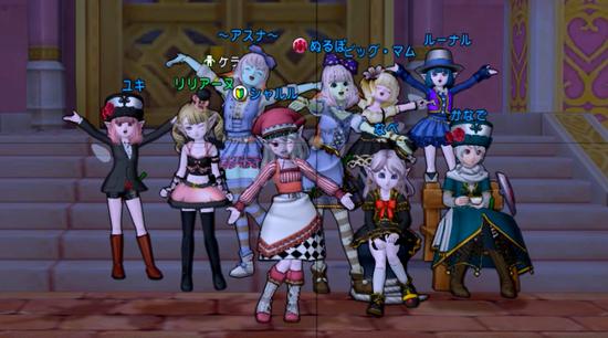 薔薇ドレスアップイベントミニゲーム2