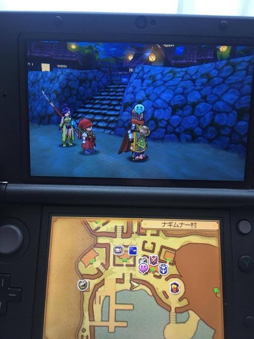 3DS版DQ11でバグって動けなくなった…