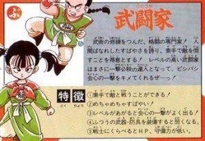 ドラクエ3の女武闘家って何歳ぐらいのイメージ?