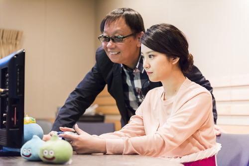 森山未來&武井咲 ドラクエ発売30周年記念作で主人公の声優に