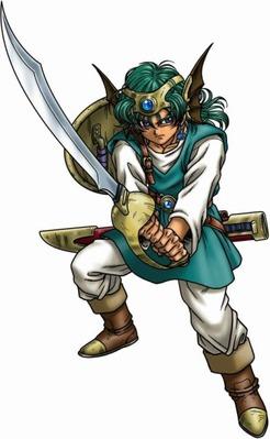 ワイDQ4勇者、恋人の形見のはねぼうしを武器屋に売る