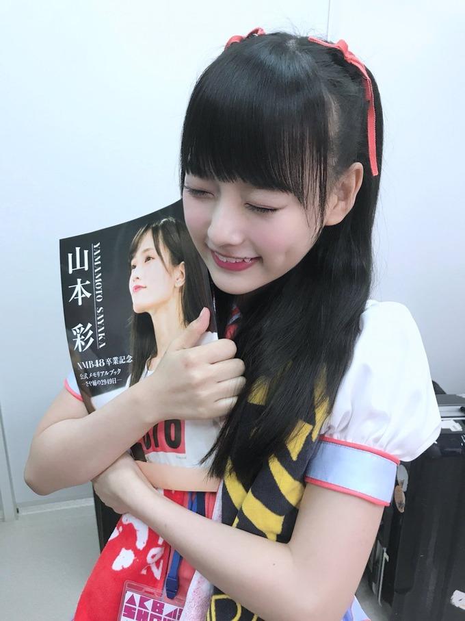 イコラブの齊藤なぎさちゃんがAKB48SHOWにさや姉卒コンの潜入レポーターとして出演!