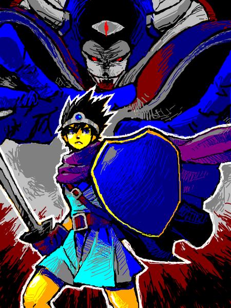勇者(DQ3)のイラスト