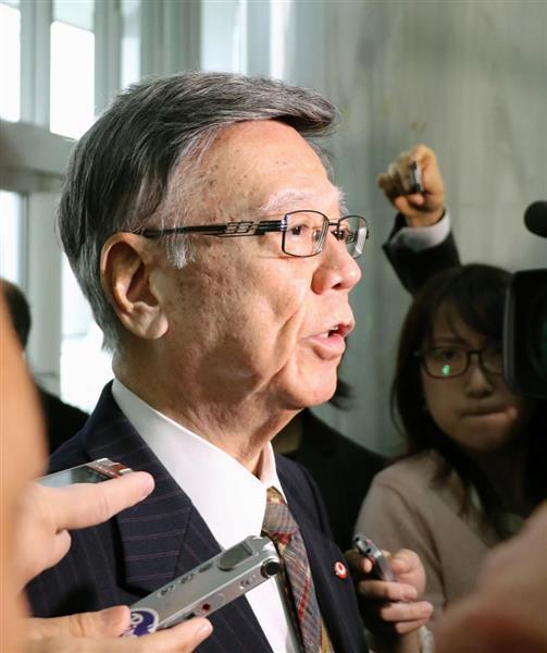 【悲報】 産経写真部 翁長知事の顔写真に容赦ない一枚を選びネットに掲載