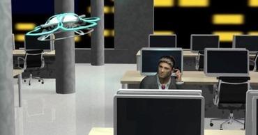 NTTらが残業監視ドローンを開発、残業している社員の元へ飛び「蛍の光」流す 月額利用料50万円