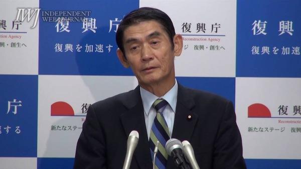 今村復興相、東日本大震災について 「まだ東北で、あっちの方だったから良かった」
