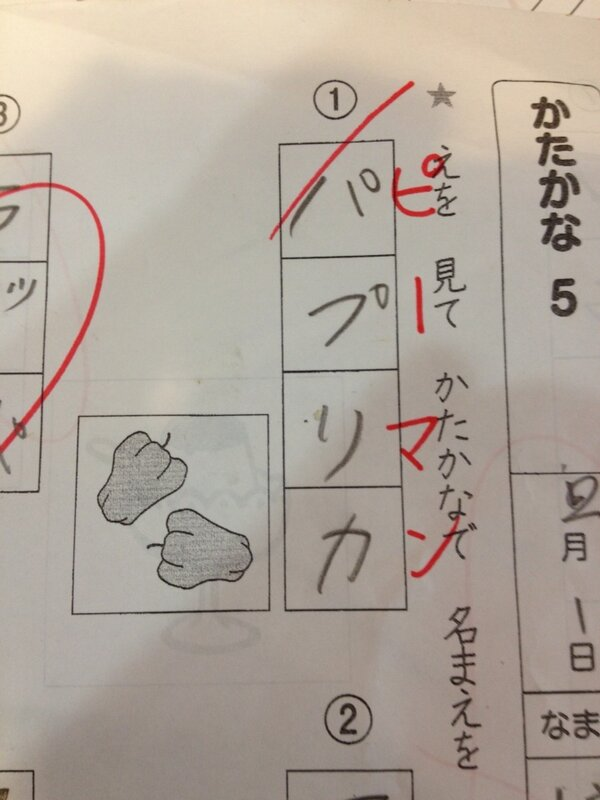 痛いニュース(ノ∀`) : 小学二年生の国語のテストが ... : 小1 漢字 : 漢字