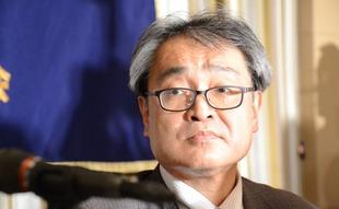 元朝日新聞の植村隆氏、NY講演で安倍首相を批判 「私はこの闘いに負けない!」