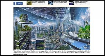 米アマゾンが超壮大「宇宙コロニー」構想を発表