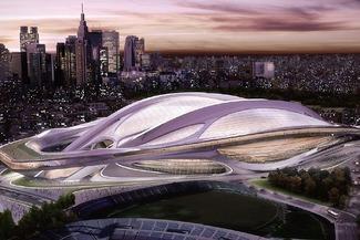 新国立競技場、アーチと開閉式屋根の中止を提言 費用2700億円→1000億円程度に