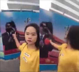 習近平の写真にインクをぶちまけた女性が拘束 → 怒った国民達が習近平にインクをかける動画を次々公開