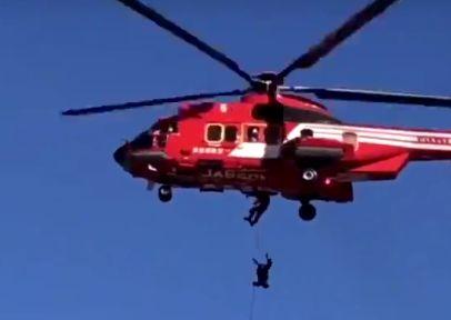 ヘリコプター 落下