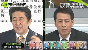 【動画】 安倍総理、ニュースZERO村尾の無礼なインタビューにブチギレ イヤホン外し完全無視