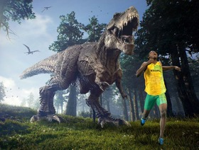ティラノサウルスから走って逃げることは可能 最新の研究で明らかに