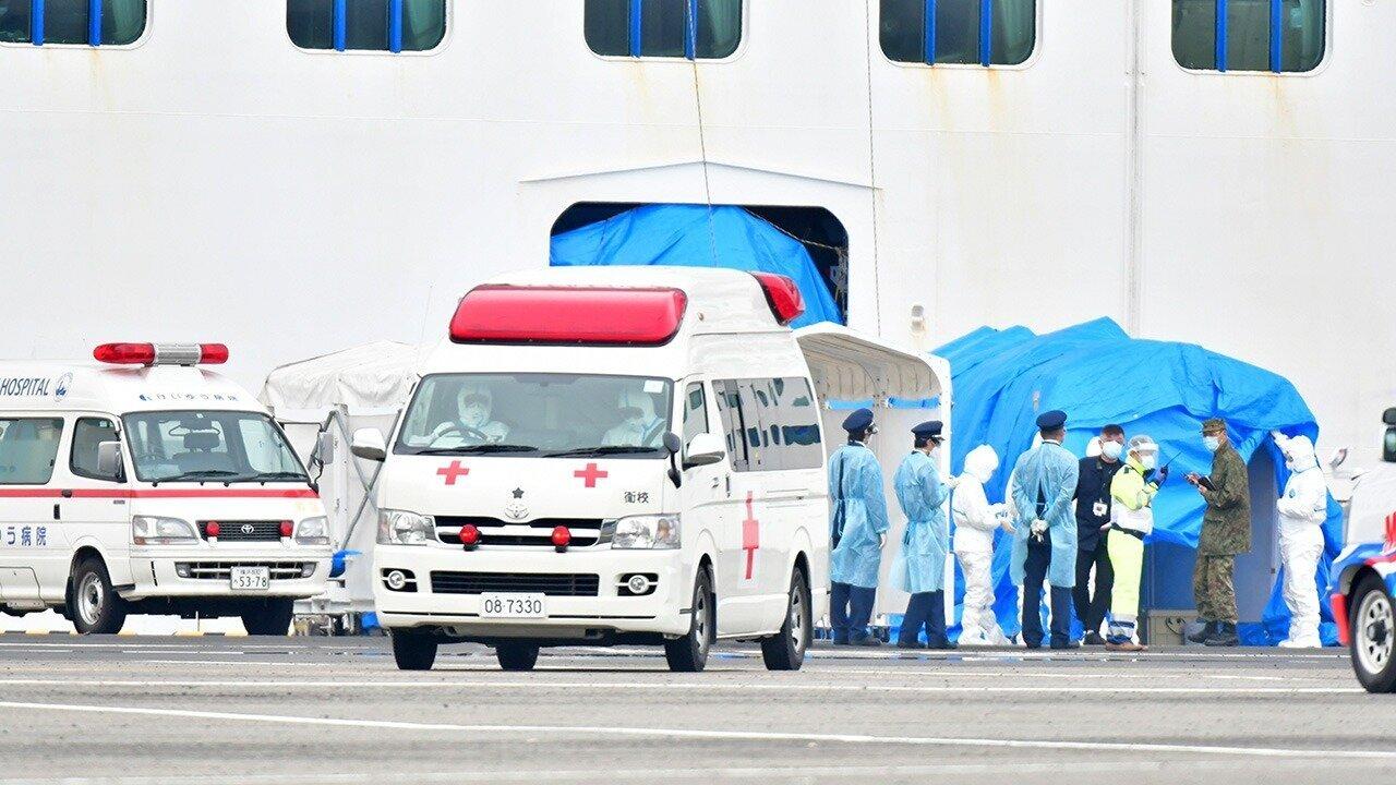クルーズ船から新型コロナ患者を搬送した消防局員の感染を確認 マスクとゴーグル着用