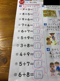 小学校算数の「さくらんぼ計算」強制に戸惑う声 答えが合ってても減点される例も