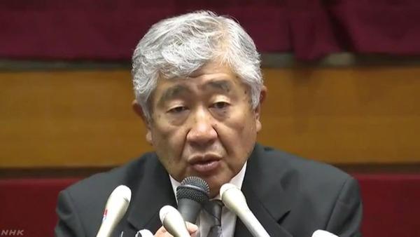 内田監督「ボールを見ていたので、反則行為は見てなかった」