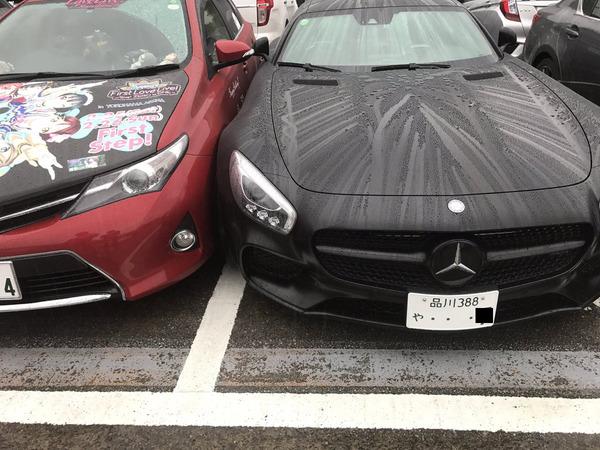 痛車オーナー「高級車オーナーの運転が下手くそすぎるから嫌がらせしたwww」
