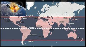 中国の宇宙ステーション『天宮1号』が制御不能に 早ければ30日に地球に落下 東京にも落下の可能性