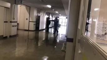 【動画】 高校教師が生徒の顔面に右ストレート一閃 生徒の暴言にブチ切れ