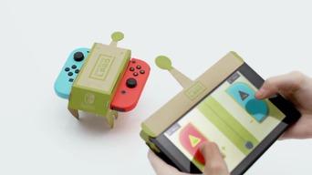 Nintendo Switchに新展開 段ボールの工作キットと組み合わせて遊ぶ「Nintendo Labo」始動