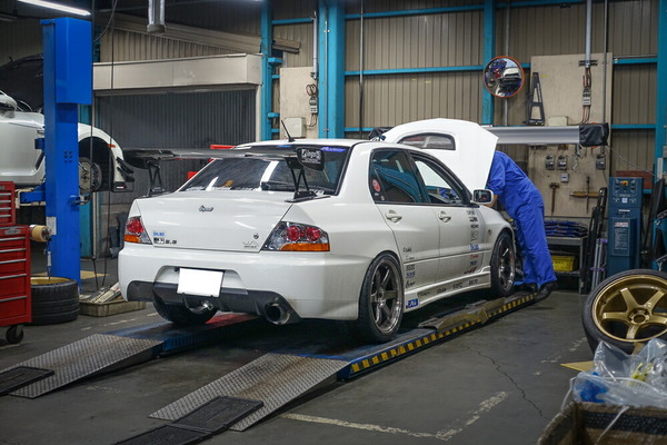 ランエボの作業とNext Car・・・