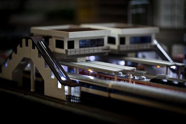 鉄道工事 進捗状況