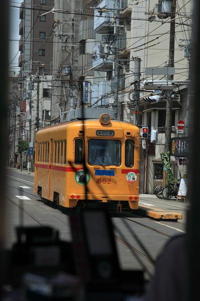 チンチン電車でGo10福助電車黄色