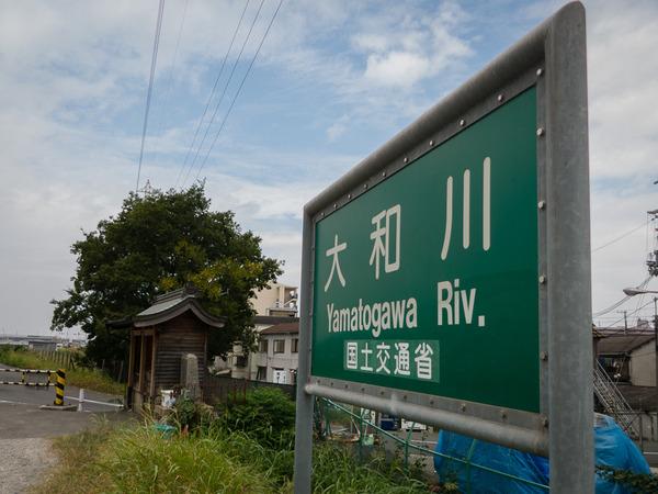 ぶらり 大和川