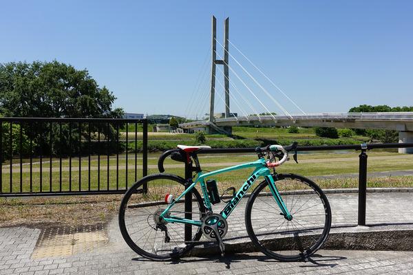 リフレッシュライドで石川サイクル橋