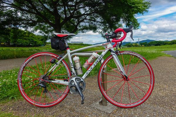 今年前半の自転車走行距離