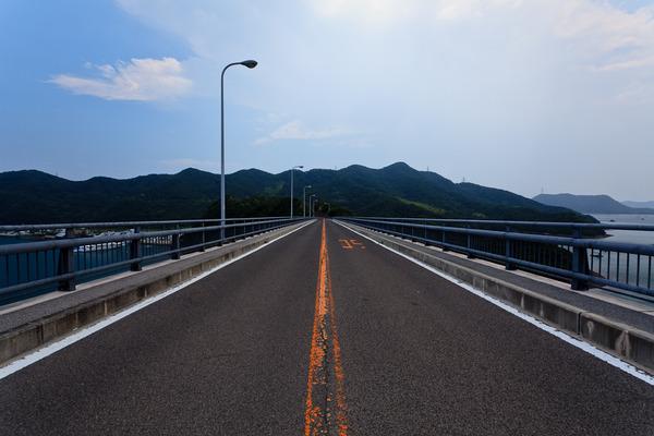 鳴門スカイライン ~堀越橋から