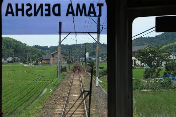 たま電車車窓