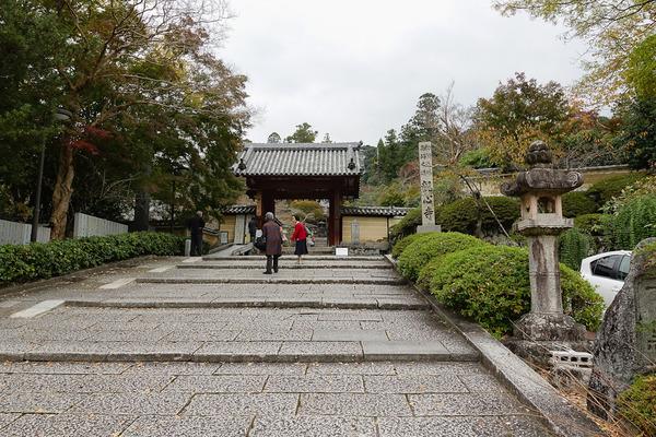 観心寺で紅葉狩り