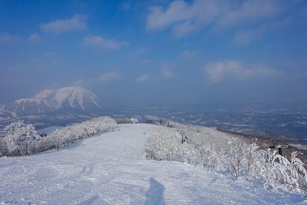北海道で初滑り