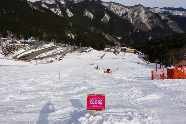 今シーズンのファイナルスキー