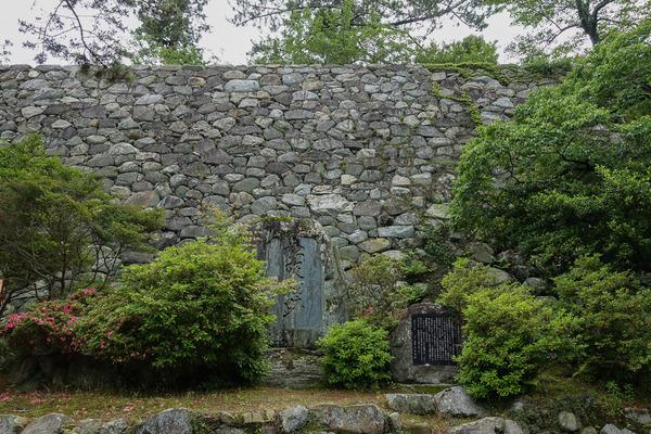 松阪城跡石垣1