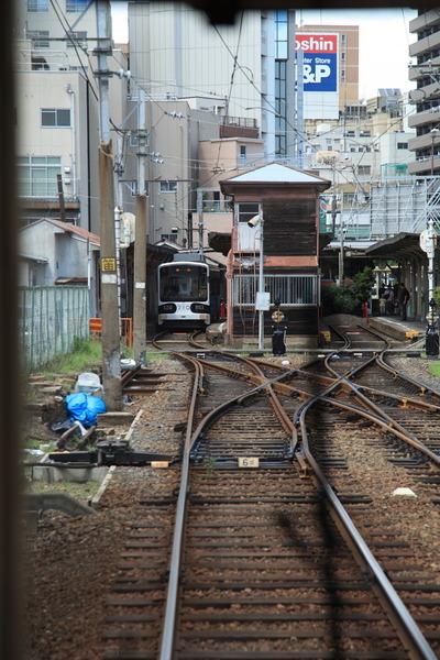 チンチン電車でGo13恵比寿町到着