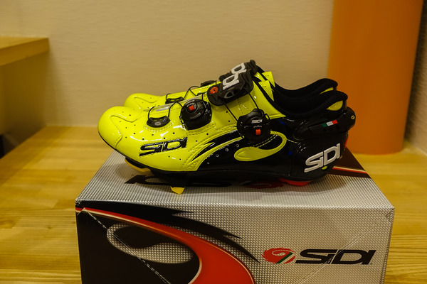 SIDI shoes & GARMIN edge 520J