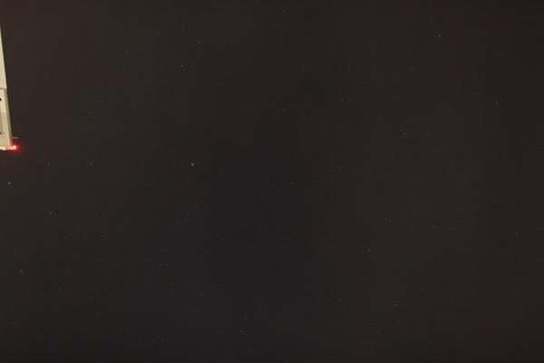 星空撮影練習