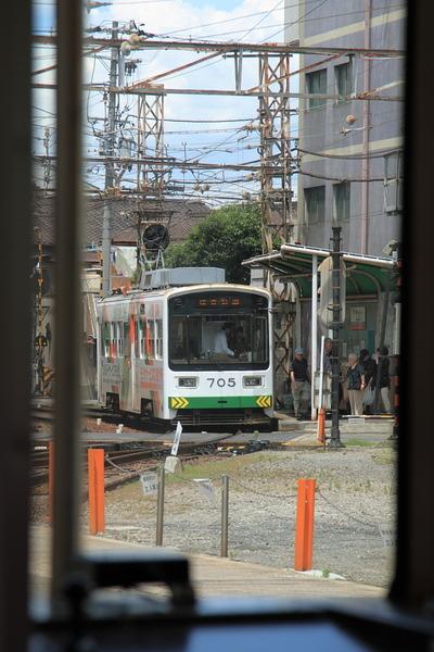 チンチン電車でGo9白電車