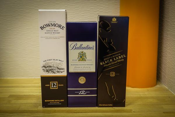 スコッチウイスキー12年モノ