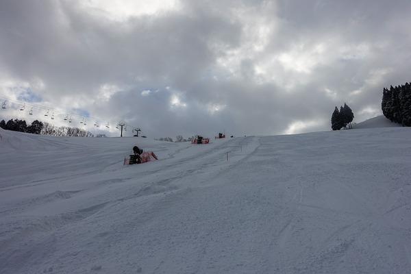 2週連続のおおやスキー場でコブレッスン