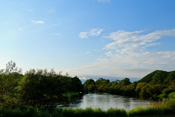 釧路湿原 ~釧路川の水辺にて