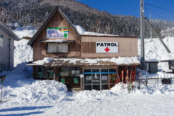 おおやスキー場でコブレッスン
