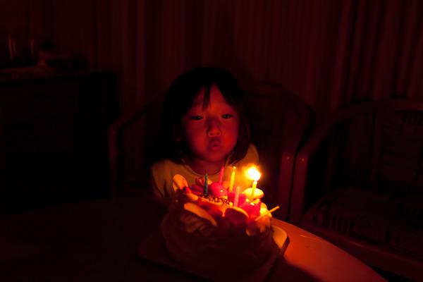 釧路で迎えた5歳の誕生日