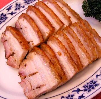 皮付き焼き豚