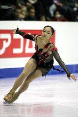 四大陸選手権、安藤美姫のフリー演技=韓国