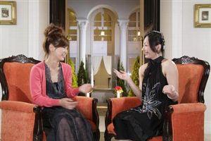 僕らの音楽で対談する絢香(左)と安藤美姫
